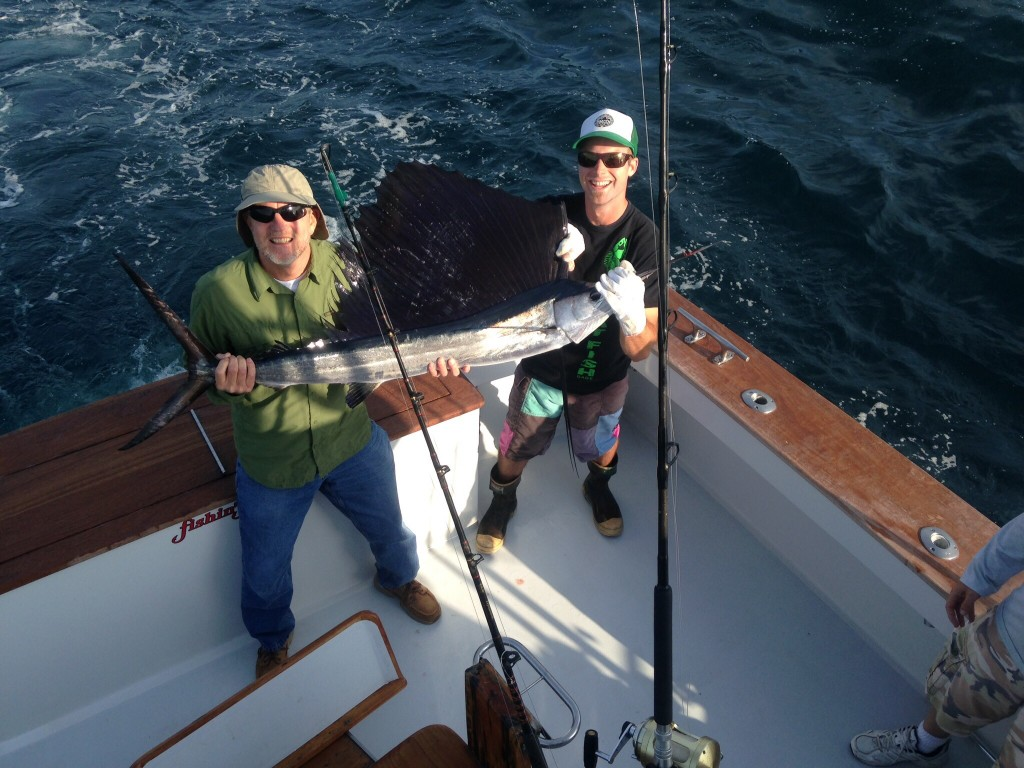 Sailfish today fishin frenzy for How is fishing today