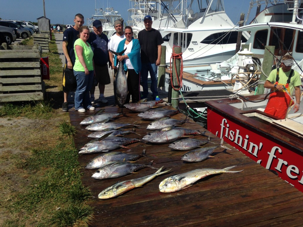 Great tuna fishing today fishin frenzy for How is fishing today